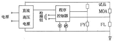 氧化锌压敏电阻测试仪原理图